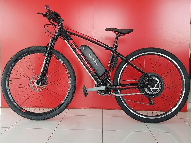 Bicicleta Elétrica 350 W GTSM1, Bateria de Lítio, Aro 29